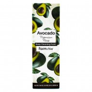 <b>FarmStay Avocado Premium Pore Deep Cleansing Foam 180ml</b><br>Очищающая пенка с экстрактом авокадо
