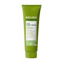 Гель для душа с мятой и лаймом Evas Naturia Pure Body Wash Wild Mint & Lime 100ml