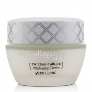 <b>3W Clinic Collagen Whitening Cream 60ml</b><br>Восстанавливающий крем для лица с коллагеном