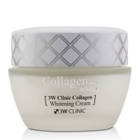 Восстанавливающий крем для лица с коллагеном 3W Clinic Collagen Whitening Cream 60ml