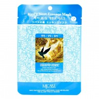 Тканевая маска для лица Ласточкино гнездо Mijin Essence Mask 23g