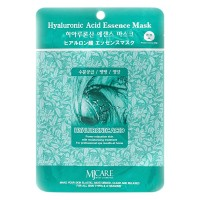 Тканевая маска для лица Гиалуроновая кислота Mijin Hyaluronic Acid Essence Mask, 23g
