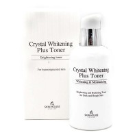 "THE SKIN HOUSE Crystal Whitening Plus Toner Тонер для выравнивания тона лица ""Crystal Whitening"", 130мл"