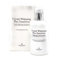 "THE SKIN HOUSE Crystal Whitening Plus Emulsion Эмульсия для выравнивания тона лица ""Crystal Whitening"", 130мл"