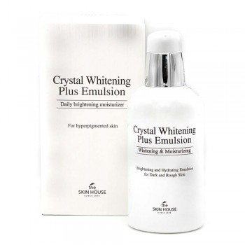 "THE SKIN HOUSE Crystal Whitening Plus Emulsion Эмульс. для выр. тона лица ""Crystal Whitening"" 130мл"