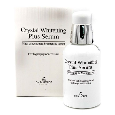 "THE SKIN HOUSE Crystal Whitening Plus Serum Сыворотка для выравнивания тона лица ""Crystal Whitening"", 50мл"