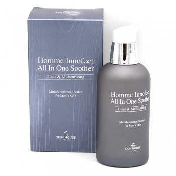 THE SKIN HOUSE Homme Innofect All In One Soother Многофункц. средство для ухода за муж. кожей 130мл