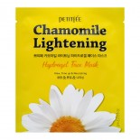 Гидрогелевая маска с экстрактом ромашки Petitfee Chamomile Lightening Hydrogel Face Mask
