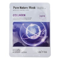 Аnskin Secriss Pure Nature Mask Pack-Collagen Маска для лица тканевая, 25мл