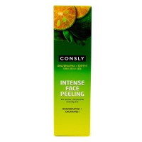 Пилинг гель с каламанси и кислотами Consly Intense Face Peeling with Calamansi and AHA BHA PHA, 120ml